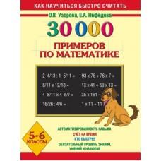 30000 примеров по математике. 5-6 класс