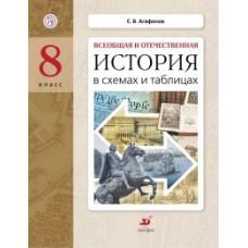 Всеобщая и Отечественная История в схемах и таблицах. 8 класс. Дидактические материалы. ФГОС