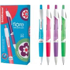 Ручка шариковая автоматическая ErichKrause. Fiore  0,7. Синяя