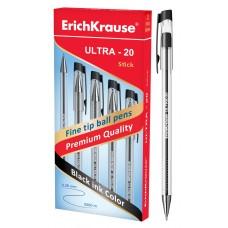 Ручка шариковая ErichKrause. ULTRA-20. 0.7. Черная