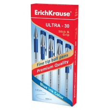 Ручка шариковая ErichKrause. ULTRA-30 0.7. Синяя