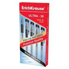 Ручка шариковая ErichKrause. ULTRA-30. 0.7. Черная