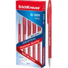 Ручка гелевая ErichKrause. R-301 Original Gel 0.5. Красная