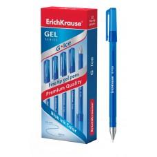 Ручка гелевая ErichKrause. G-Ice 0,4. Синяя