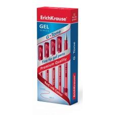 Ручка гелевая ErichKrause. G-Tone 0.5 . Красная