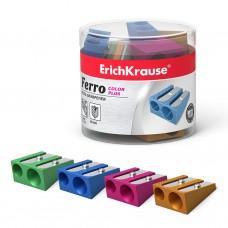 Точилка металлическая ErichKrause. Ferro Color Plus. Два отверстия