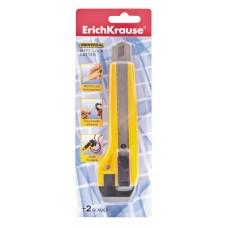 Нож канцелярский с автоматической фиксацией лезвия ErichKrause. Universal, 18мм