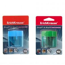 Точилка пластиковая ErichKrause. Smart&Sharp. С контейнером