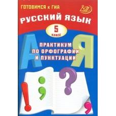 Готовимся к ГИА. Русский язык. Практикум по орфографии и пунктуации. 5 класс