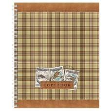 Тетрадь. 48 листов. КЛЕТКА. HATBER VK. Серия Шотландка. 4 вида