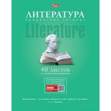 Тетрадь предметная. ЛИТЕРАТУРА. 48 листов. А5. HATBER. Серия Коллекция знаний