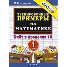 5000 примеров по математике. 1 класс . Счет в пределах 10. Тренировочные примеры
