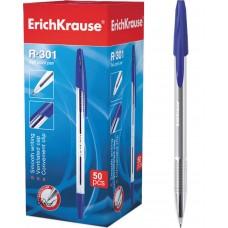Ручка шариковая ErichKrause. R-301 Classic Stick 1.0. Синяя