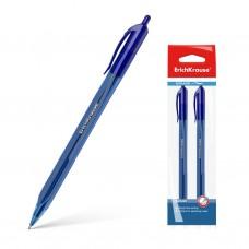 Ручка шариковая автоматическая. ErichKrause. U-28 Ultra Glide Technology. Цвет чернил синий. В пакете по 2 штуки