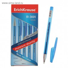 Ручка гелевая ErichKrause. R-301 Original Gel 0.5. Синяя