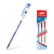 Ручка гелевая ErichKrause. G-Point. Цвет чернил: синий, черный, красный. Комплект из 3 штук