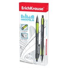 Карандаш механический ErichKrause. MEGAPOLIS Concept. 0.5мм, НВ. Серый