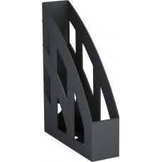 Подставка для бумаг вертикальная BASIC. Черная