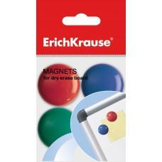 Магниты для магнитно-маркерных досок ErichKrause. 3см. 8 штук. Цветные