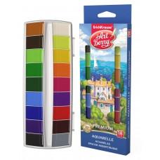 Краски акварельные ArtBerry Premium. С УФ защитой яркости. 18 цветов