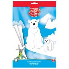 Картон белый. ArtBerry. B5. 10 листов. Игрушка-набор для детского творчества
