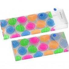 Пенал пластиковый ErichKrause Buttons