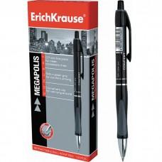 Ручка шариковая автоматическая ErichKrause. MEGAPOLIS Concept 0.7. Черная