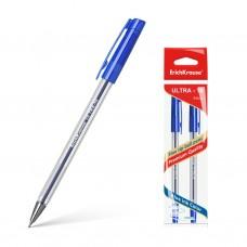 Ручка шариковая. ErichKrause. ULTRA-10. Цвет чернил синий. В пакете по 2 штуки