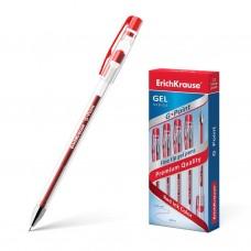 Ручка гелевая ErichKrause. G-Point. Цвет чернил красный