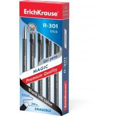 Ручка гелевая ErichKrause. R-301 Magic Gel 0,5. Сo стираемыми чернилами. Цвет чернил черный