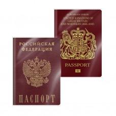 Обложка пластиковая для паспорта. ErichKrause. Размеры 188х134x0,10 мм