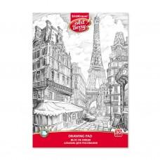 Альбом для рисования на клею. ErichKrause. ArtBerry. Париж . А4. 30 листов