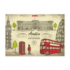 Альбом для рисования на клею. ErichKrause. Great Britain. А4. 30 листов