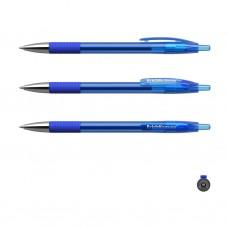Ручка гелевая автоматическая. ErichKrause. R-301 Original Gel Matic&Grip. Цвет чернил синий