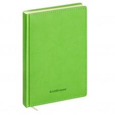 Ежедневник А5 недатированный. ErichKrause. Silhouette. Цвет: зеленый. Тонированная бумага. На магните. 336 стр