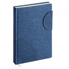 Ежедневник А5 недатированный. ErichKrause. Ruggine. Цвет: синий. Тонированная бумага. На магните. 336 стр