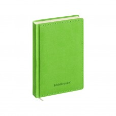 Ежедневник А6+ недатированный. ErichKrause. Silhouette. Цвет: зеленый. Тонированная бумага