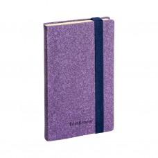 Ежедневник А5- недатированный. ErichKrause. Ruggine. Цвет: фиолетовый. Тонированная бумага. На резинке