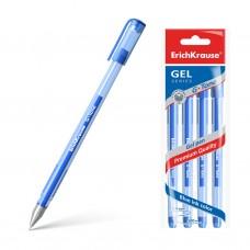 Ручка гелевая. ErichKrause. 226 G-Tone. Цвет чернил синий. В пакете по 4 шт