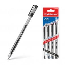 Ручка гелевая. ErichKrause. 226 G-Tone. Цвет чернил черный. В пакете по 4 шт