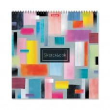 Альбом для эскизов. ErichKrause. 226 Абстракция. 40 листов. На спирали. 297x297 мм