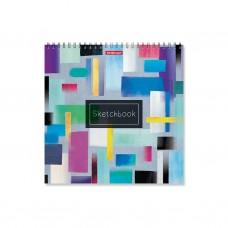 Альбом для эскизов. ErichKrause. 226 Абстракция. 40 листов. На спирали. 220х220 мм