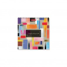 Альбом для эскизов. ErichKrause. 226 Абстракция. 40 листов. На спирали. 170х170 мм