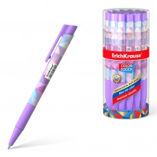 Ручка шариковая автоматическая. ErichKrause. Color Touch Magic Rhombs 0.7. Цвет чернил синий