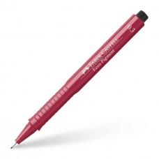 Капиллярная ручка. Faber-Castell. Ecco Pigment. 0,3 мм. Красная