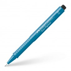 Капиллярная ручка. Faber-Castell. Ecco Pigment. 0,1 мм. Синяя