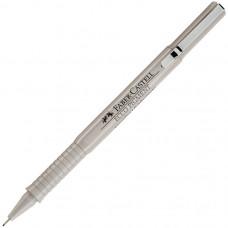 Капиллярная ручка Faber-Castell. Ecco Pigment. 0,2 мм. Черная