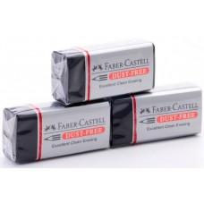 Ластик Faber-Castell. Dust-Free. Черный