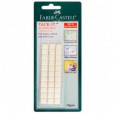 Снимаемая масса для приклеивания Faber-Castell. Tack-It. Белая. 50 г