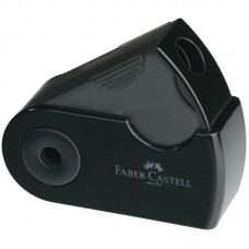 Точилка пластиковая. Faber-Castell. Sleeve Mini. 1 отверстие. Контейнер